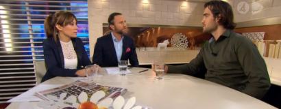 TV4 morgonsoffan- Sluta jaga lyckan